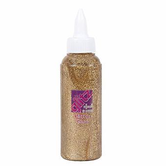 Docrafts Glitter Glue Gold (120ml) (GLT 43203)