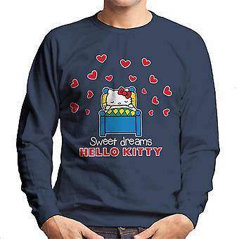 Hello Kitty Love Heart Sweet Dreams Mænd's Sweatshirt