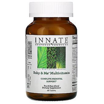 Innate Response Formulas, Baby & Me Multivitamin, 60 Tablets