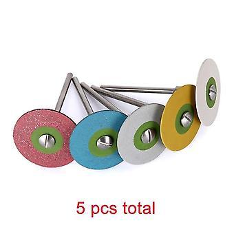 Ruote di diamanti in gomma dentale per la zarconia/Porcellana PFM/ Emaxs