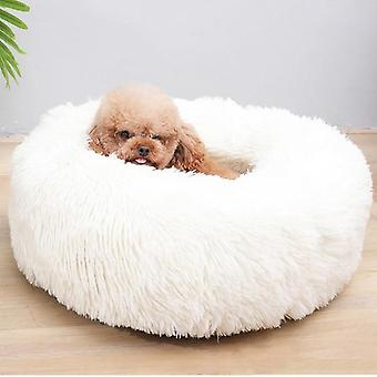 Sleep Luxury Soft Plush Dog Bed - Round Shape Sleeping Bag
