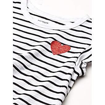 Brand - Spotted Zebra Toddler Girl's 3-Pack Short-Sleeve Ruffle Tops, ...