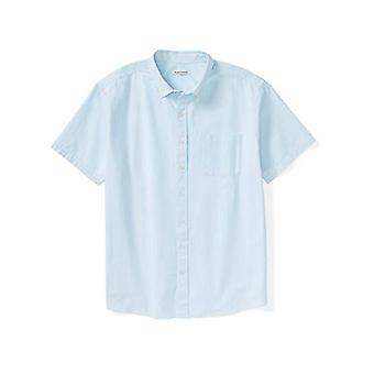 Essentials Men&apos's Big & Tall Short-Sleeve Pocket Oxford Shirt passar av DX...