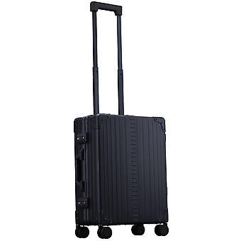 """ALEON International Carry-On Hand Luggage Trolley 21"""" Trolley 4 Wheels, 40 cm, 31.5 L, Black"""