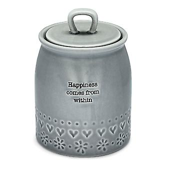 Cooksmart Purity Canister, Happiness