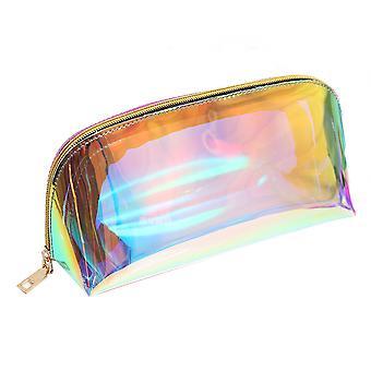 يانغفان PVC ليزر التجميل المكياج حقيبة