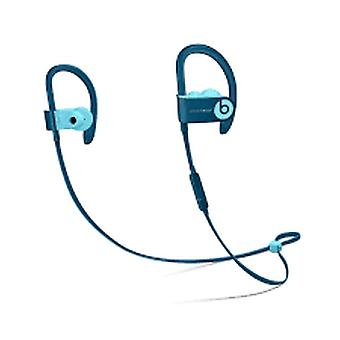 MRET2EE/A Beats by Dr.Dre Powerbeats 3 Headset Wireless Remote Talk Water Resistant - Pop Blue