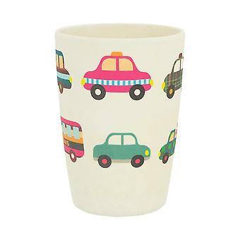 Tiny Dining Children's Bamboo Fibre Juice Cup - Cars