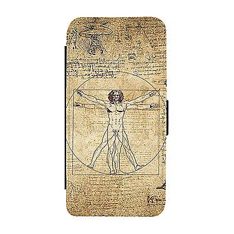 Vitruvianske Mannen Samsung Galaxy S9 Plånboksfodral