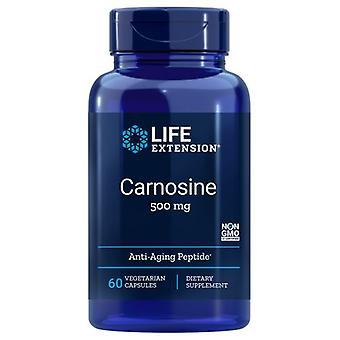 Life Extension Carnosine, 500 mg, 60 Caps