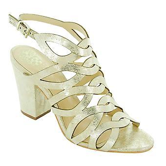 Vince Camuto naisten Norla nahka avoimen rento Strappy sandaalit