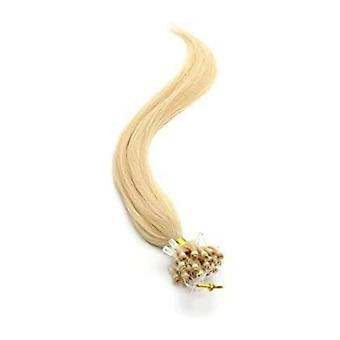 American Pride Micro Ring Human Hair Extension 18 Inch - Sunkissed Blonde