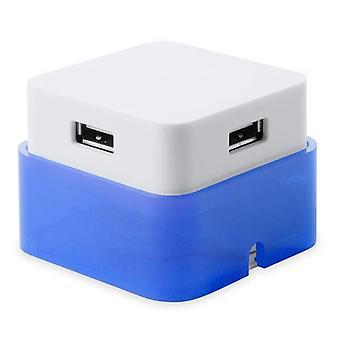 3-pack, USB HUB 4 Puertos Azul
