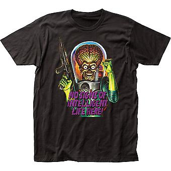 No Signs Of Intelligent Life Here Mars Attacks T-Shirt
