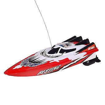 Rc Racing Boat, Radio Remote Control Dual Motor High-speed Strong Boat- Toy