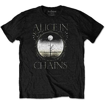 Alice i kæder Moon Tree officielle Tee T-shirt Unisex