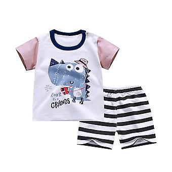Summer Baby Soft Shorts Suit, T-shirt Sodder Clothes