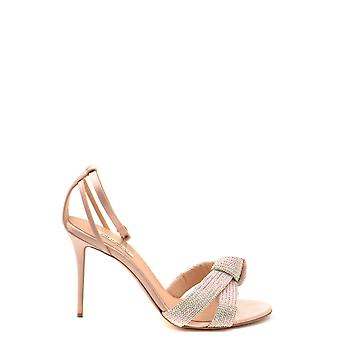 Ninalilou Ezbc115024 Women's Pink Leather Sandals