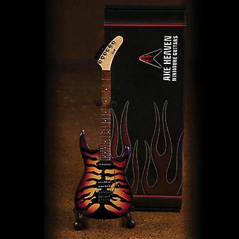 George Lynch Sunburst Tiger Mini Guitar USA tuonti