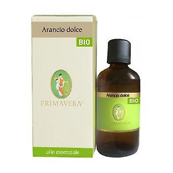 Sweet Orange Bio Essential Oil 100 ml of essential oil