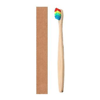 Natural Bamboo Handle, Soft Bristle Toothbrush