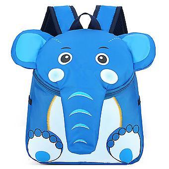 De olifantrugrug rugzak van de kleuterschool
