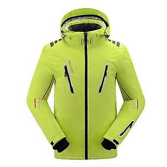 Veste de ski à l'épreuve de l'eau respirante pour homme et à l'épreuve de l'eau