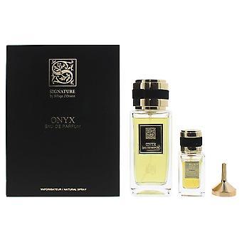 Signature Sillage D'Orient Onyx Eau de Parfum 100ml & EDP 15ml Gift Set