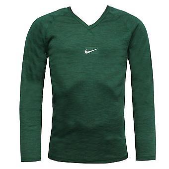 Nike Miesten Pitkähihainen Harjoittelu Top V Kaula T-paita Vihreä 791193 302 A57D