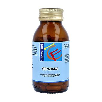 Gentian 100 vegetable capsules of 350mg