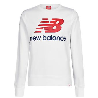 New Balance Mens Essential Logo Crew Sweatshirt Sweater Jumper Pullover Top