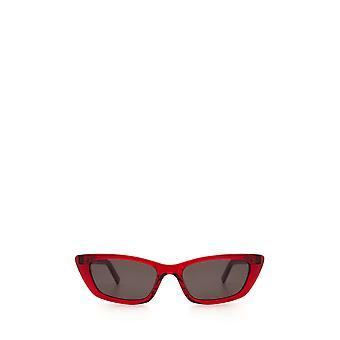 Saint Laurent SL 277 red female sunglasses