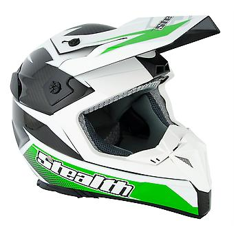 Stealth HD210 GP Replica Adult MX Helmet - Green