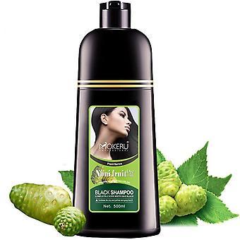 Herbal Magic Nopea Hiusväri Shampoo Pysyvä Väri (musta)