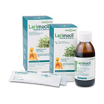 Larimucil Cough and Throat Soothing Gel 12 packets of 10ml