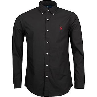 Polo Ralph Lauren Katoen Poplin Shirt met lange mouwen