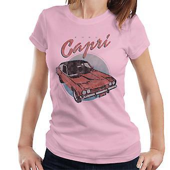 Ford Red Capri Naisten't-paita