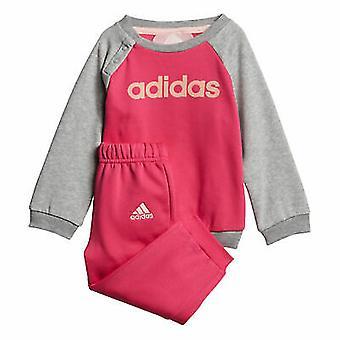 Adidas Infant Girls Linear Fleece Full Set DJ1574