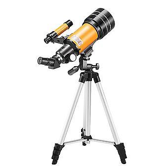 Monokulärt teleskop 30070 med justerbar stativtelefonadapter för månskådning super telefoto zoom monokulär teleskoplins