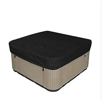 Waterproof Polyester Square Hot Tub Cover Outdoor Square Hot Tub Cover