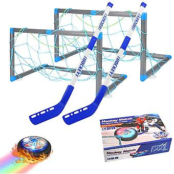 welltop Hover Hockey Set, Rechargeable Air Power Hockey Toy, Indoor & Outdoor Hovering Hockey