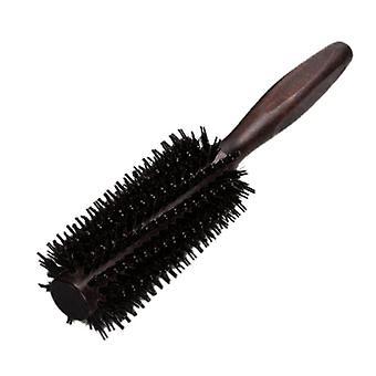 Gerade Twill Haarkamm natürliche Wildschwein Bristle Rolling Brush