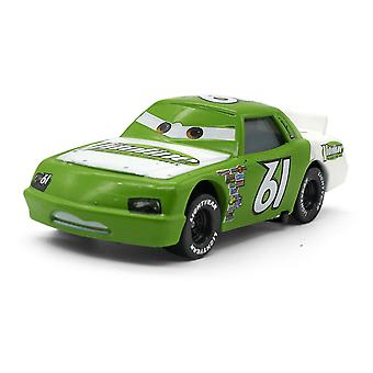 Cars No. 61 Racing Car Vitoline Driver Green Children's Alloy Toy Cartoon Simulation Car