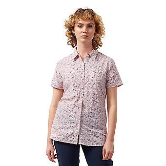 Craghoppers Kvinders NosiLife Tayma Kortærmet Walking Shirt