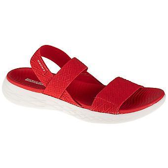 Skechers PÅ GO 600 Girls Trip 140026RED universelle sommer kvinner sko