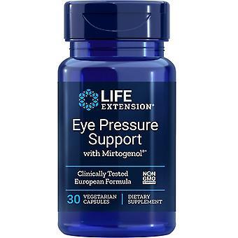Suporte de pressão ocular de extensão de vida com Mirtogenol Vegicaps 30
