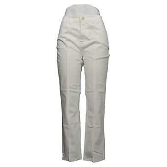 Lisa Rinna Collection Women's Jeans Denim w/ Naad Detail White A366189