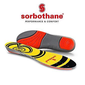 Sorbothane Doppelschlag Antibakterielle CoolMax Trimmbare Schuh Trainer Innensohle