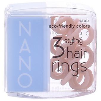 Резиновые полосы волос Nano Invisibobble