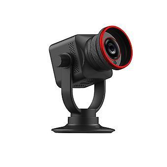mini kamera 12x zoom hotspot wifi bevegelsesdeteksjon IP nattsyn sovende baby hjem sikkerhet monitor videokamera (svart)